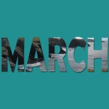 March Button